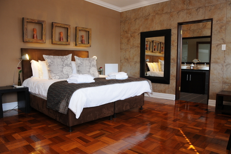 ROOM 2 – UPSTAIRS - EXECUTIVE SUITE WITH WOODEN FLOOR